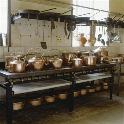 batterie de cuisine on the turn of the century gas range by benham co petworth at national