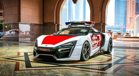 2015 W Motors LYKAN HyperSport Abu Dhabi Patrol Car 8
