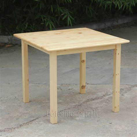 Ikea Style Wood Tables Square Table For Children To Learn