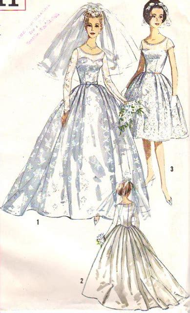 beautiful classic wedding bridal dress pattern