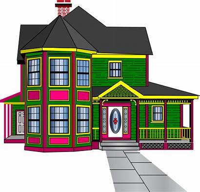 Clipart Guest Townhouse Clip Boarding Vector Town
