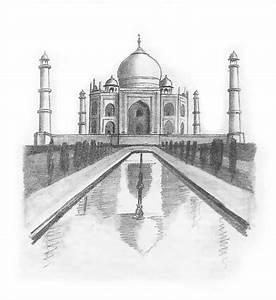 Best 25+ Taj mahal drawing ideas on Pinterest   Taj mahal ...