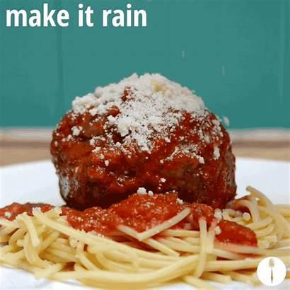 Meatballs Spaghetti Italian Gifs Stuffed Inception Experience