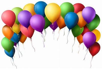 Balloons Birthday Balloon Transparent Clip Arch Clipartmag