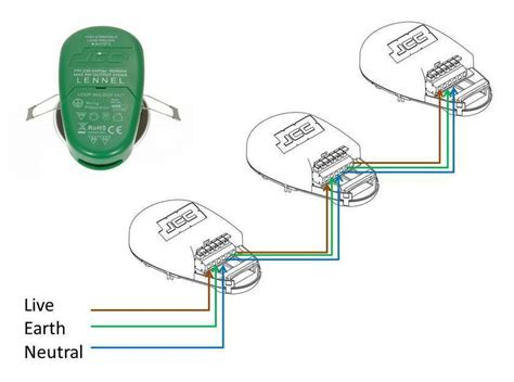 Led Downlights Wiring Diagram For