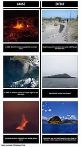 Volcanoes Cause Effect Storyboard By Elizabethpedro