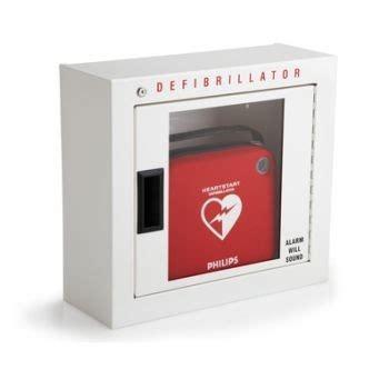 Defibrillator Cabinet by Alarmed Defibrillator Cabinet Basic 989803136531 Made