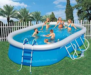 Bestway Pool Set : bestway 16ft x10ft x 42in oval fast set above ground garden pool ~ Eleganceandgraceweddings.com Haus und Dekorationen