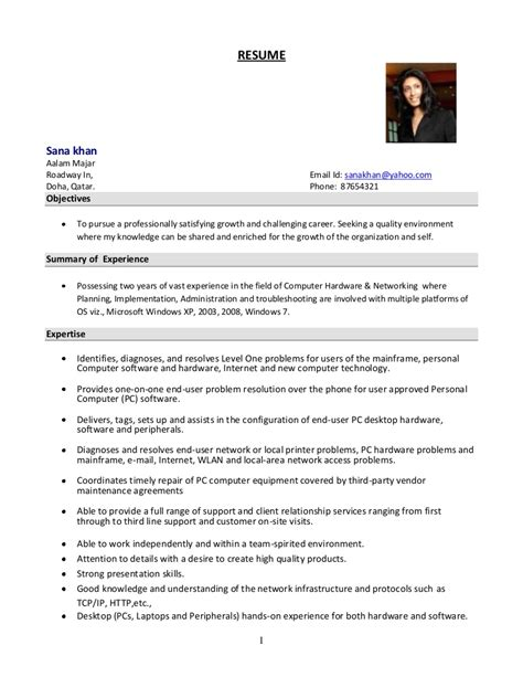 System Administrator Resume system administrator resume format