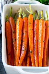 Honey Roasted Carrots - Dinner at the Zoo  Carrot