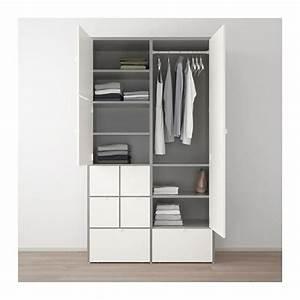 Kleiderschrank Weiß Grau : visthus kleiderschrank grau wei wohnen pinterest ikea kleiderschrank kleiderschrank ~ Buech-reservation.com Haus und Dekorationen