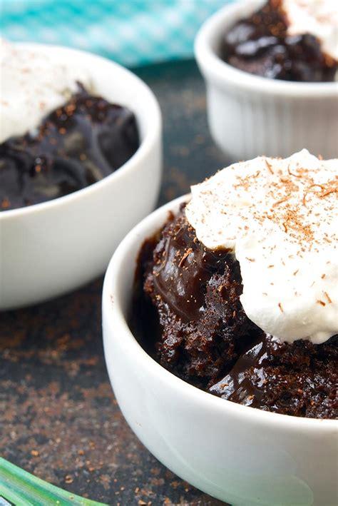 easy chocolate pudding cake recipe king arthur flour