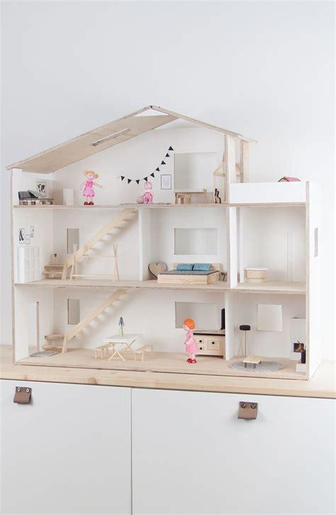 puppenhaus selber bauen und spielecke im kinderzimmer organisieren beim selbst gebaut