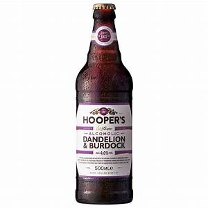Hooper39s Dandelion Burdock 500ml Alcohol BM