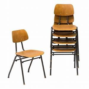 Chaise D école : chaise d 39 cole vintage campus ~ Teatrodelosmanantiales.com Idées de Décoration