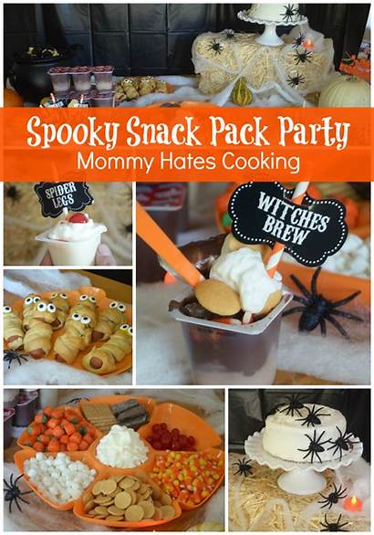 Halloween Party Snack Pack Spooky Mummy Dogs