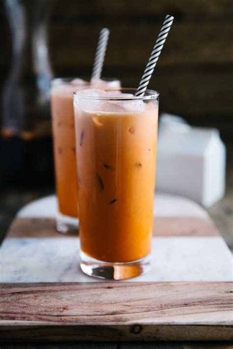 How to Make Thai Iced Tea - The Forked Spoon