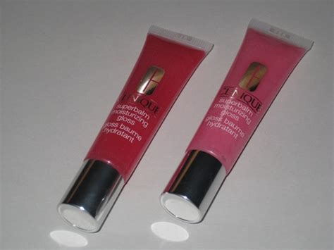 clinique superbalm moisturizing gloss review swatches