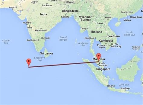 Maldives Residents Saw Missing Plane Mh370