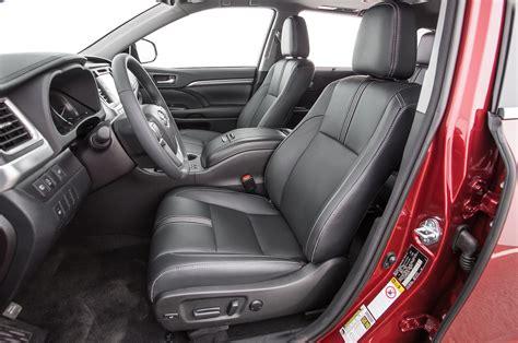 toyota highlander interior 2017 toyota highlander se awd test review