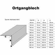 Ortblech Mit Wasserfalz : suchergebnis auf f r ortgangblech ~ Whattoseeinmadrid.com Haus und Dekorationen