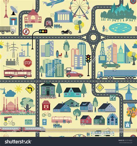 City Clip Map City Clipart Explore Pictures