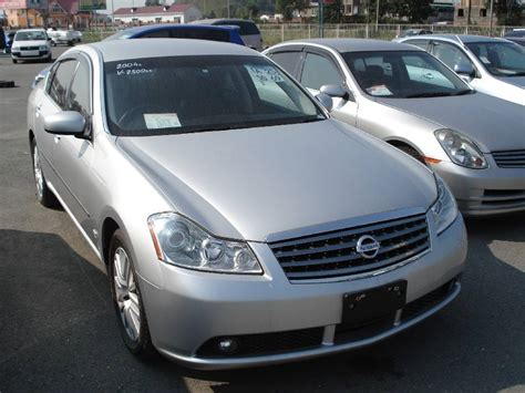 2004 Nissan Fuga Pictures, 2500cc, Gasoline, Automatic