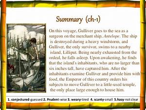 Gulliver's travels summary