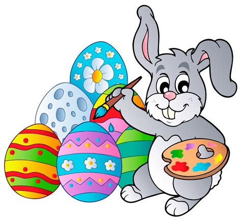 easter bunny clipart easter images free 9to5animations