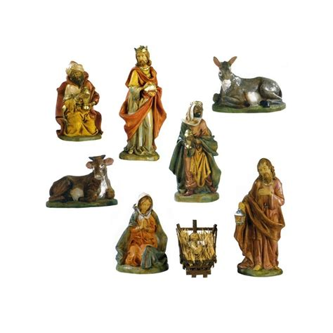 unbreakable nativity scene with 8 pieces