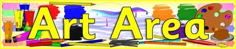 Art Area Banner (SB6003) - SparkleBox