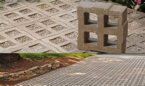green driveway material ecogrid is another pervious concrete paving grid option it provides 39 percent open space in