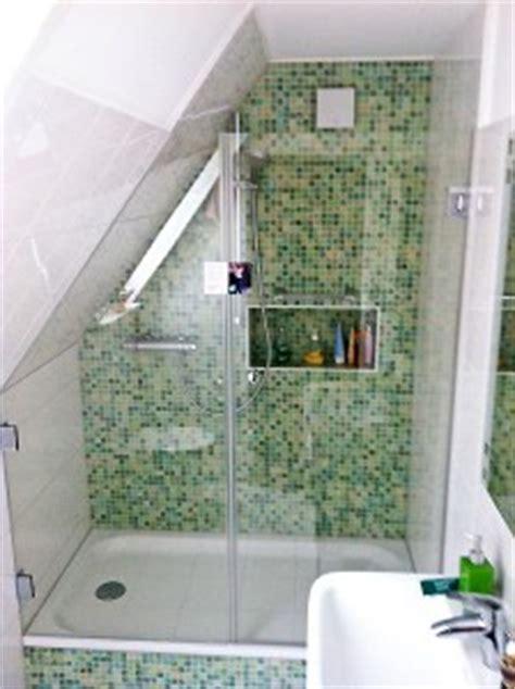 Nieschen Dusche Unter Dachschräge Lüneduschen