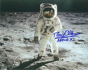 Astronaut Buzz Aldrin Signed by Bulova - Pics about space