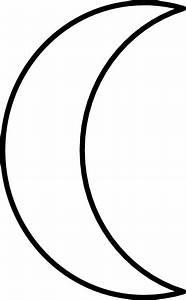 Crescent Moon Clip Art at Clker.com - vector clip art ...