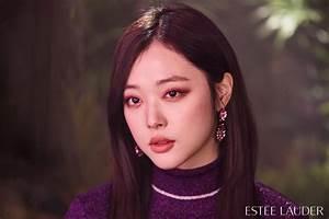 Sulli Is A Gorgeous ESTEE LAUDER Model! | Daily K Pop News