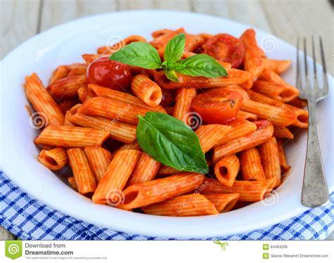 cuisine pate cuisine pâte italienne de penne photo stock image 64463206