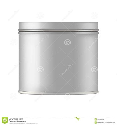 Try your design on more mockups. Metal Cosmetic Jar For Cream, Scrub, Gel, Powder. Vecto ...