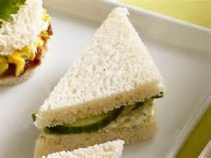 Butter Tea Sandwiches Cucumber
