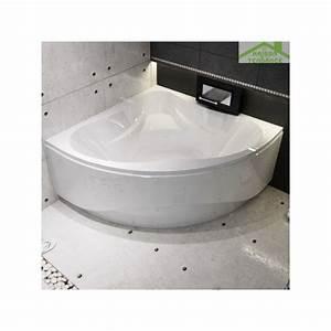 Baignoire Neo Jacob Delafon : baignoire d 39 angle acrylique riho neo 150x150 cm maison ~ Melissatoandfro.com Idées de Décoration