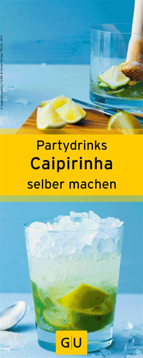 alkoholfreie cocktails selber machen cocktails drink caipirinha rezept silvester cocktail
