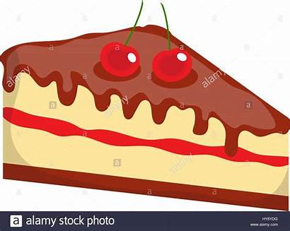 Cheesecake Icon Cake Cartoon Alamy Flat