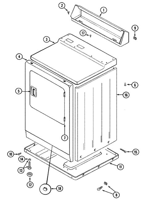 Parts Diagram For Maytag Neptune Dryer Gettguru
