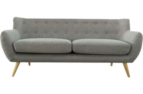 roimage canapé canapé 3 places en tissu algano canapé 3 places et plus