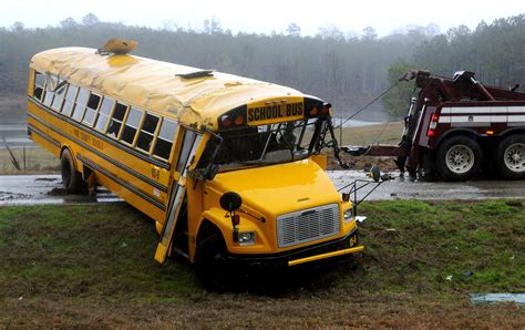 School Bus Crashes Prompt Safety Questions