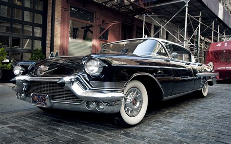 1957 Cadillac Sedan Full Hd Wallpaper And Background Image
