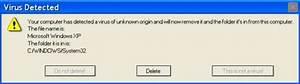 Virus Detected alert on my computer - Techyv.com