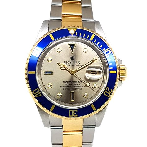 Rolex submariner Date 40mm Automatic Steel/18K Yellow Gold ...