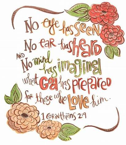 Bible Scripture Corinthians Verse Wall Eye Christian
