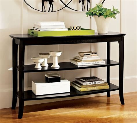 how to decorate a console table vignettes pinterest